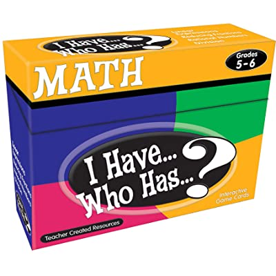 Teacher Created Resources I Have… Who Has…? Math 5-6 (7834): Office Products