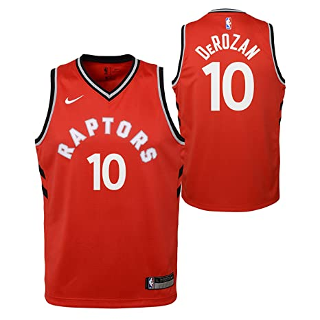 70af5d28290 Amazon.com   Outerstuff DeMar DeRozan Toronto Raptors NBA Nike Youth Red  Icon Swingman Jersey   Sports   Outdoors