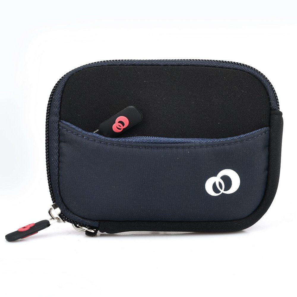Dia BTE Hearing Aid NEW Neoprene Protective Case w/ micro fiber lining and pocket