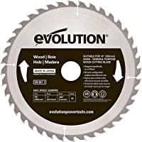 Evolution Power Tools – Construir rageblade255wood evolución 255 mm madera carburo