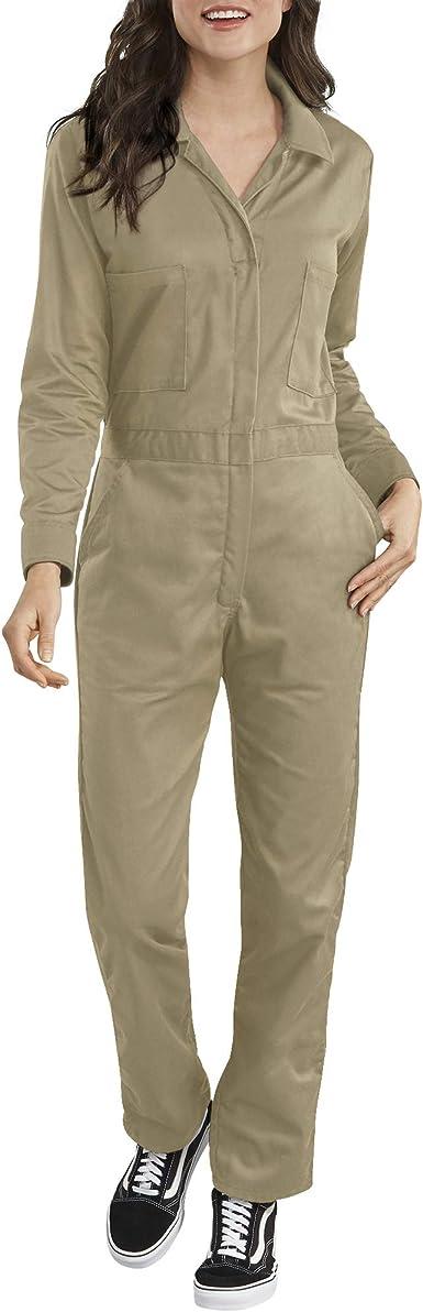 Dickies - Mono de sarga de algodón de manga larga para mujer: Amazon.es: Ropa y accesorios