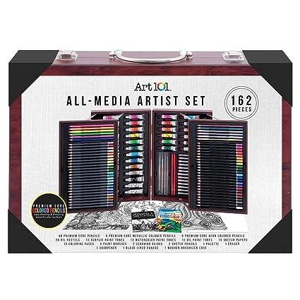 Art 101 Platinum All Media Artist Set 154-Pieces NEW