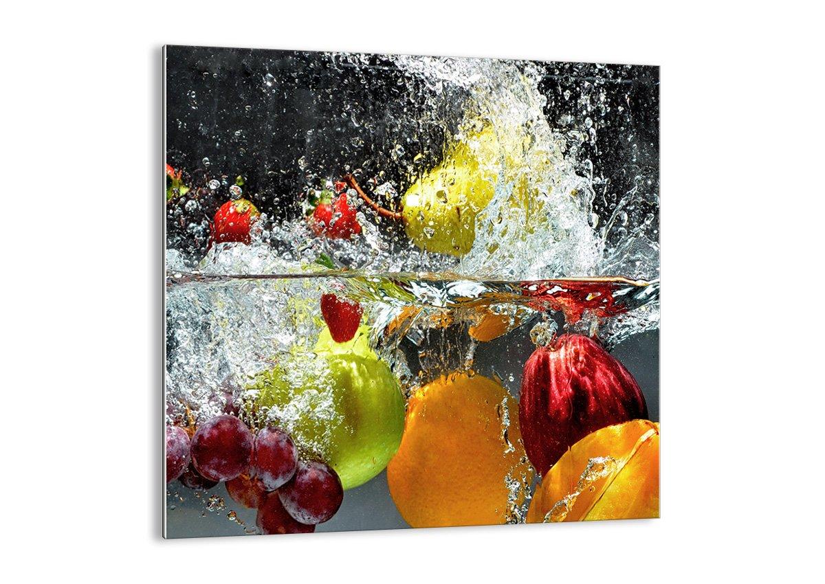 Impression sur verre - image sur verre - un élément - largeur : 30cm, hauteur : 30cm - Photo N° 2972 - Tableaux pour la mur - prete a suspendre - Tableau en verre - motif moderne - Décoration - pret a accrocher - GAC30x30-2972 ARTTOR