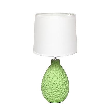 Amazon.com: All The Rages - Lámpara de mesa ovalada de ...