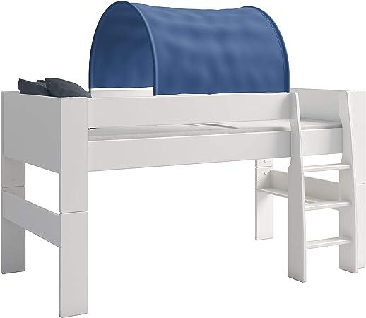 Letto A Castello Ikea Con Tenda.Steens Furniture Tenda A Tunnel Per Letto A Castello Bambini Blu