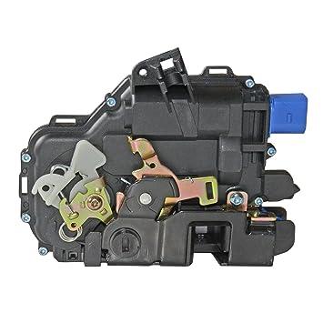 Actuador de cerradura de puerta 3B4839015AN - Trasero izquierdo: Amazon.es: Coche y moto