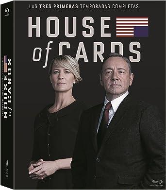 Amazon Com House Of Cards Complete Seasons 1 3 11 Disc Box Set