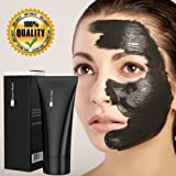 Blackhead Remover Mask [Removes Blackheads] - Premium Quality Black Pore Removal Peel off Strip Mask For Face Nose Acne Treatment - Best Mud Facial Mask 60g (2.11 Oz)