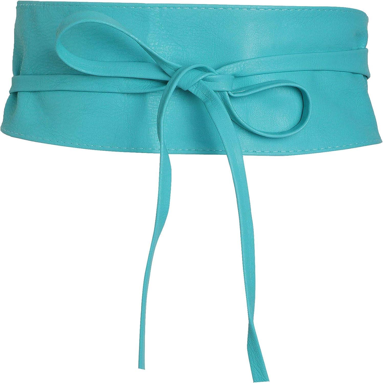 KRISP Cinturón Mujer Ancho Corsé Atado Cordón Ancho Fiesta Ajustable Cintura Talle Grande Original Vestido