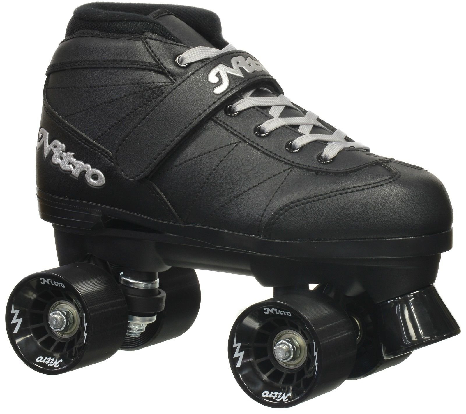 Epic Skates Epic Super Nitro Black Quad Speed Roller Skates Kids 9