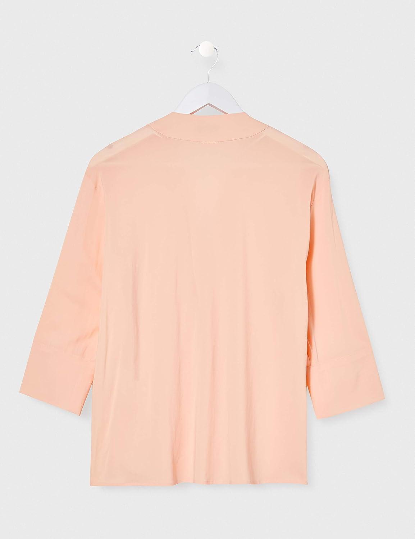 Cinque Cipalare Camicia da Donna Giallo (Giallo Medio 34).