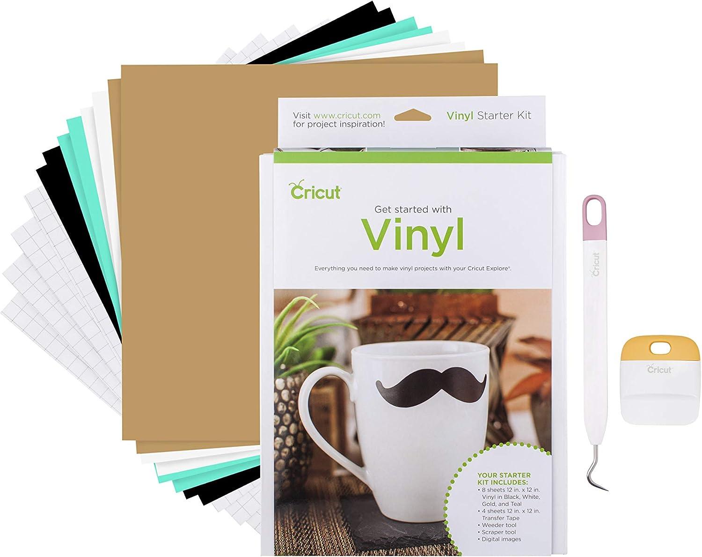 Cricut SE FE Vinyl Starter Kit, Assorted