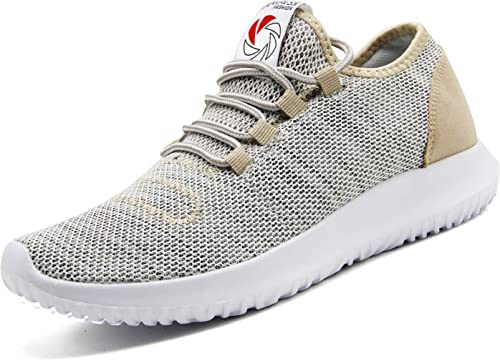 CAMVAVSR Mens Sneakers Fashion Casual Running Shoes Soft Sole Breathable Athletic Shoes for Walking K7