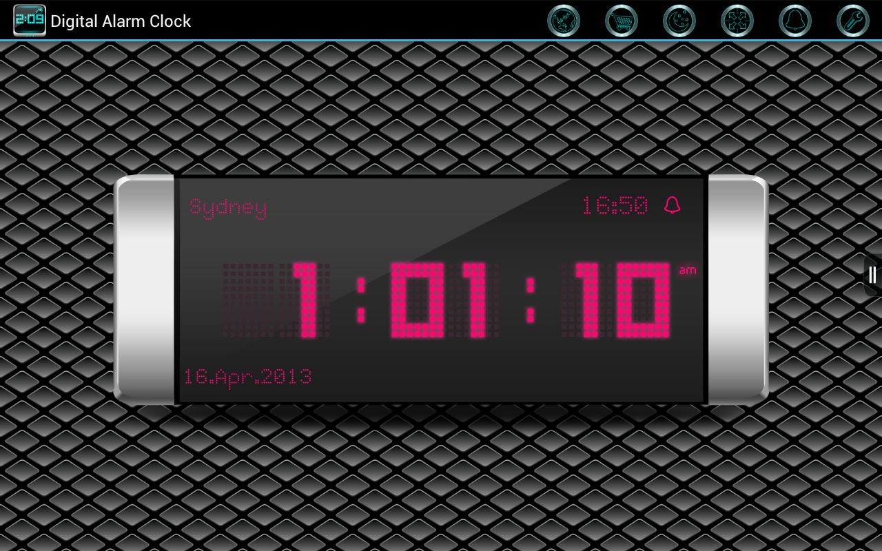 Amazon.com: Digital Alarm Clock (Kindle Tablet Edition): Appstore for Android