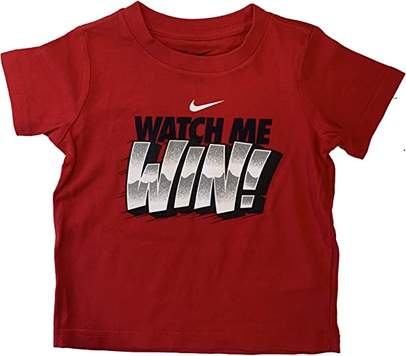 Cotton T-Shirt Nike Just Do It Swoosh Toddler Kids Boys