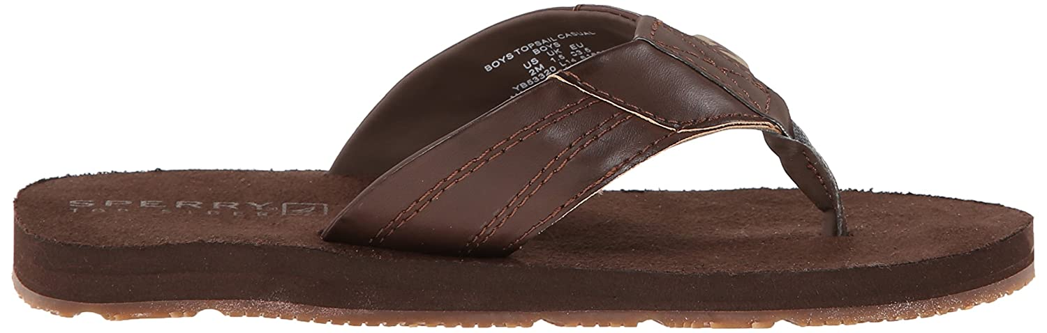 Amazon.com | Sperry Topsail Casual Thong Sandal (Little Kid/Big Kid) |  Sandals