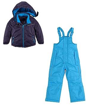 POCOPIANO - Traje de esquí para niños pequeños, Pantalones ...