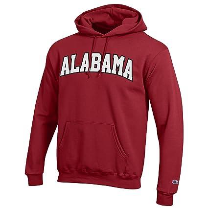 1bf08816b Amazon.com   Champion NCAA Men s Eco Power Blend Hooded Sweat Shirt ...