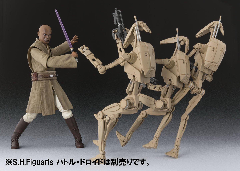 /Star Wars Mace Windu Figura Bandai/ 4549660037477 15/cm