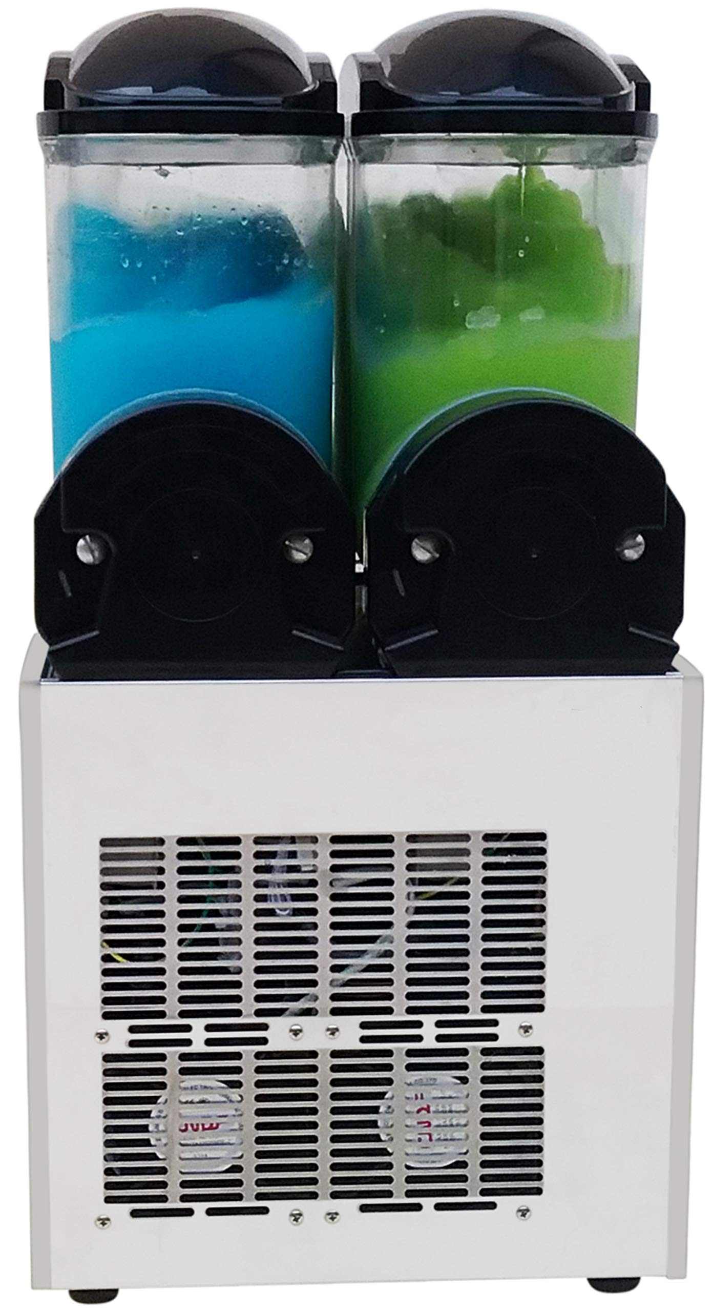 Brand : BRAVO ITALIA 2 bowls slushie machine 3.2 gallons each bowl , 100 CUPS ,COMMERCIAL GRADE MACHINE ,Margarita Machine , Slushie Maker , Margarita Maker , Slushy Machine by BRAVO ITALIA (Image #4)