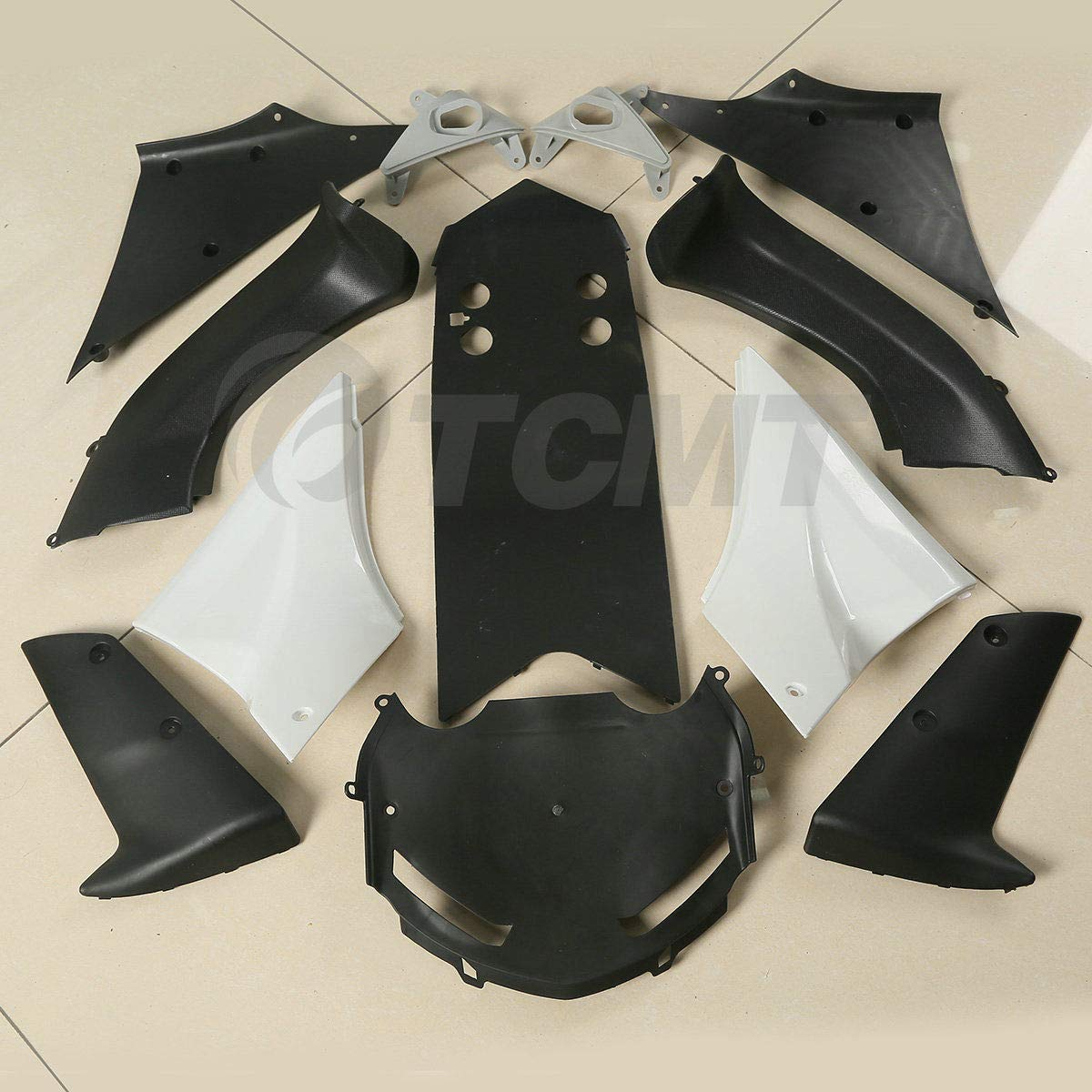 TCMT Injection ABS Unpainted Fairing Bodywork Kit Fits For Kawasaki Ninja ZX10R 2006 2007