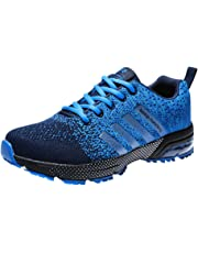 the latest f33ea dc820 Zapatillas Deporte Hombre Zapatos para Correr Athletic Cordones Air Cushion  3cm Running Sports Sneakers 36-