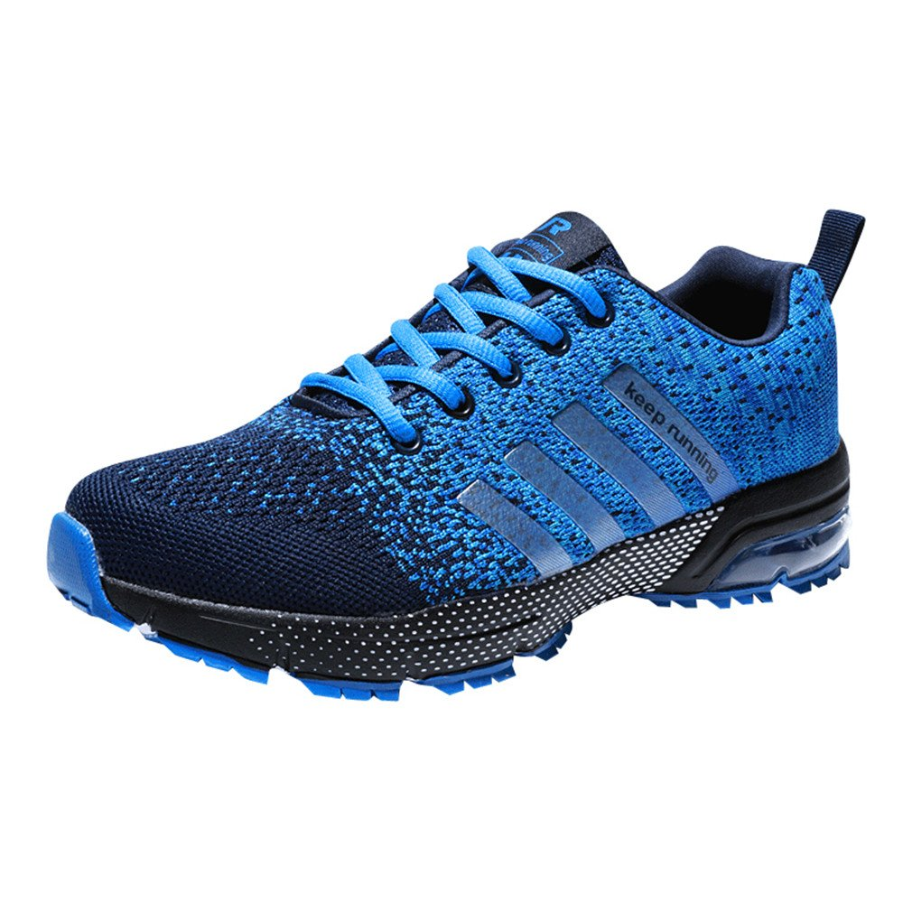 Chaussures de Course Baskets Femme Running Homme Fitness Entraînement Air Shoes 3...