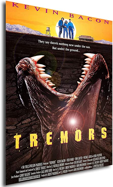 Instabuy Poster Tremors (Temblores) Vintage Movie Poster - A3 (42x30 cm)