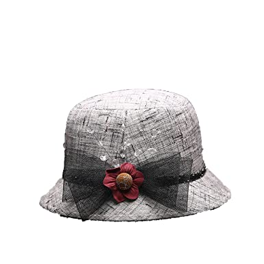 Hat Ladies Linen Spring and Summer Tophat Elegant Fashion Hat Wholesale  Visor Sun Hat 6385fd07812