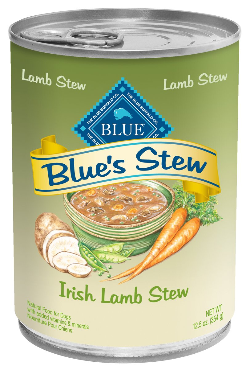 Blue Buffalo Blue s Stew Irish Lamb Stew Adult Canned Dog Food