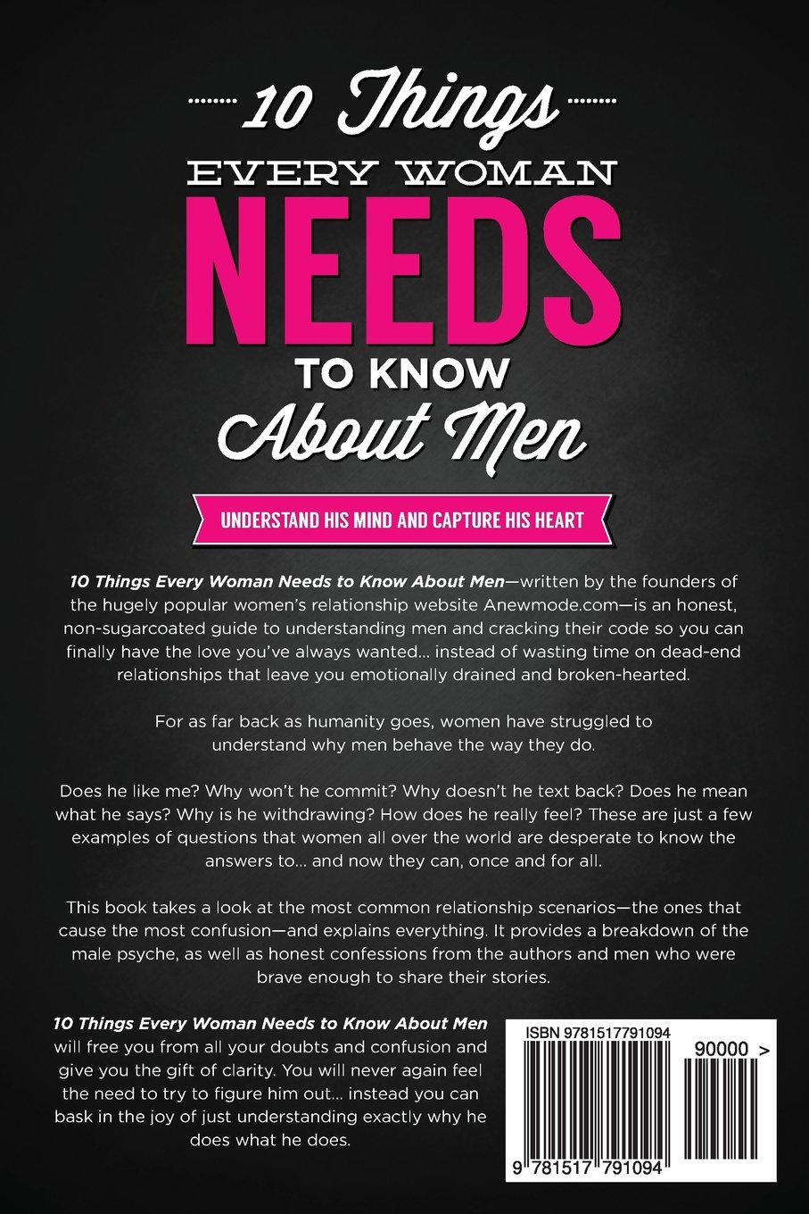 Things men need to know about women