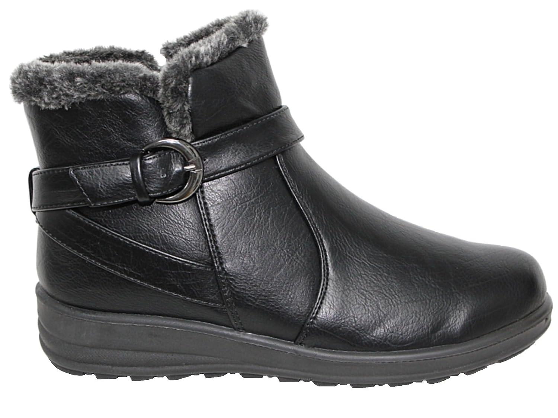 Bottes Chelsea Foster Chaussures Fille Femme Adulte Unisexe, Couleur Noir, Taille 35.5