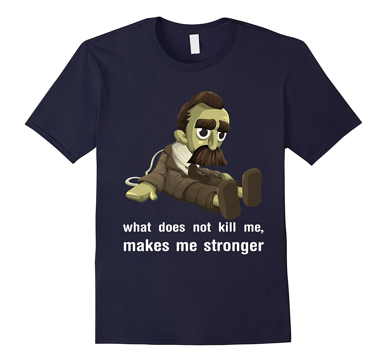 Nietzsche Voodoo Doll T-Shirt-FL