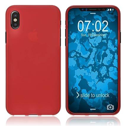 official photos 84f41 252fb Amazon.com: PhoneNatic Silicone Case for Apple iPhone Xs Max matt ...