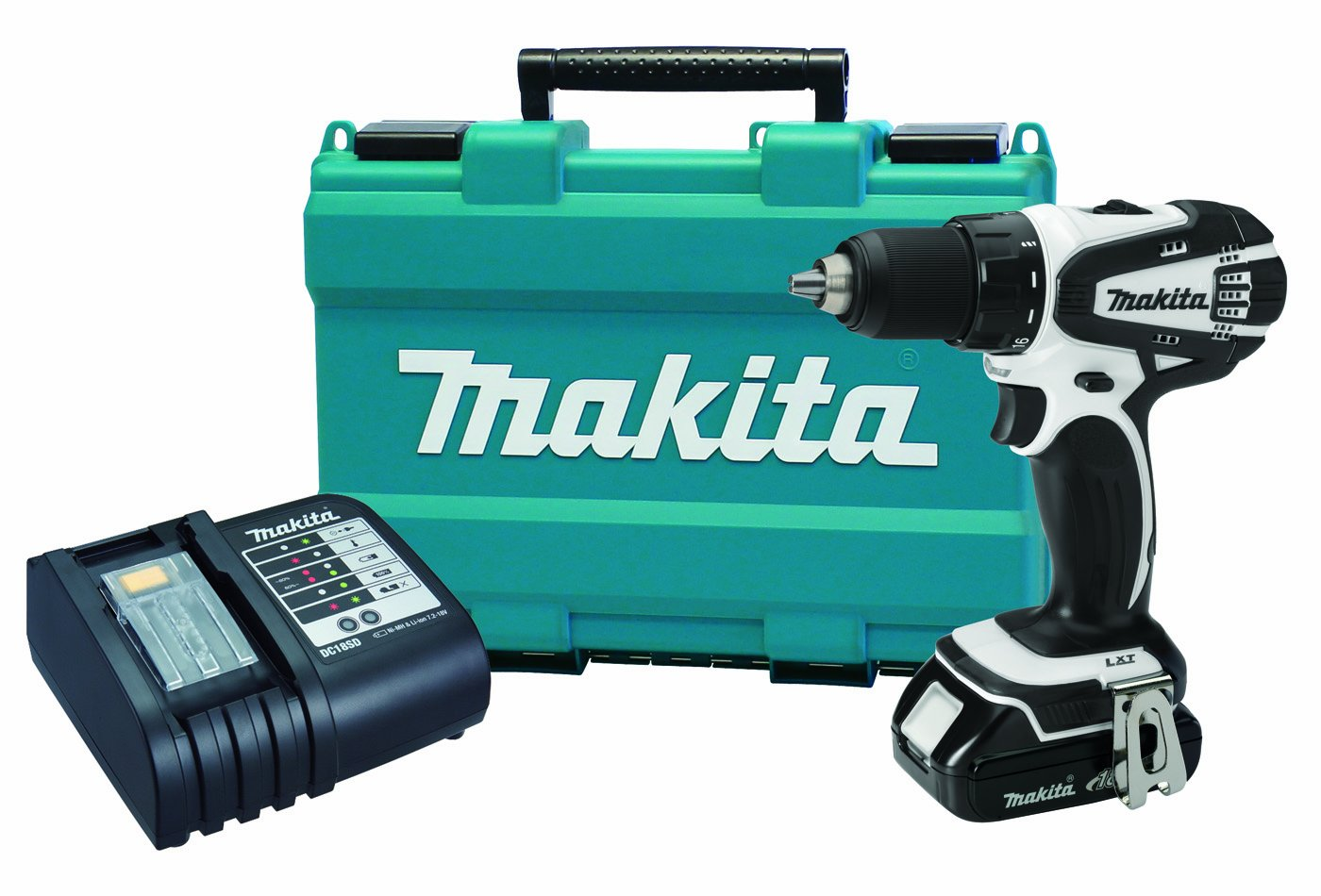 Makita XFD01WSP 18V Compact Lithium-Ion Cordless 1 2 Driver-Drill Kit with 1 Battery Discontinued by Manufacturer