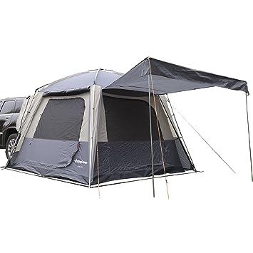 KingCamp Tienda Multifunction Espaciosa Resistente al Agua Ignifuga Transpirable Camping Tienda para 5 Personas 3 Estaciones