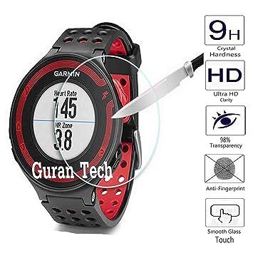 Guran® Protector de Pantalla Vidrio Cristal Templado Para Garmin Forerunner 235 Running Smartwatch Film