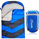 yodo XL Cold Weather Sleeping Bag Envelope with Compression Sack for 4 Season Camping, Hiking, Traveling,Backpacking and Outdoor Activities