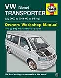 Volkswagen VW Transporter T5 1.9 2.0 2.5 Diesel 2003-2014 Haynes Manual