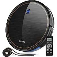 Robot Vacuum, GOOVI by ONSON 2100Pa Upgrade Robotic Vacuum Cleaner with Gyroscope, Self-Charging Vacuum with Boundary…