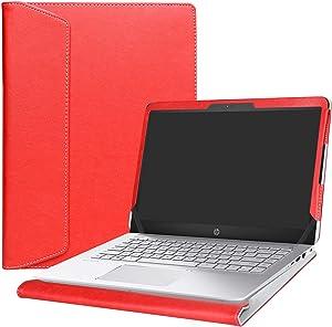 "Alapmk Protective Case Cover for 14"" HP Pavilion 14 14-bkXXX (14-bk000 to 14-bk999,Such as 14-bk061st 14-bk063st) Series Laptop[Warning:Not fit Pavilion 14 14-bXXX 14-abXXX 14-bfXXX],Red"
