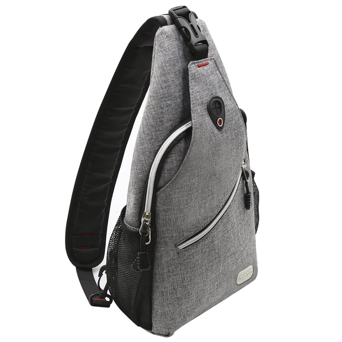 Tenacitee Athletic Aged to Perfection 2001 Grey Brushed Canvas Messenger Bag