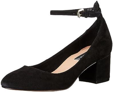 46c15395179 STEVEN by Steve Madden Women s Vassie Dress Pump Black Suede 7.5 ...