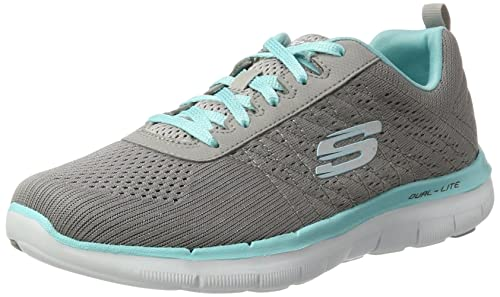 88076d02ba Skechers Flex Appeal 2.0-Break Free, Scarpe Sportive Donna: MainApps:  Amazon.it: Scarpe e borse