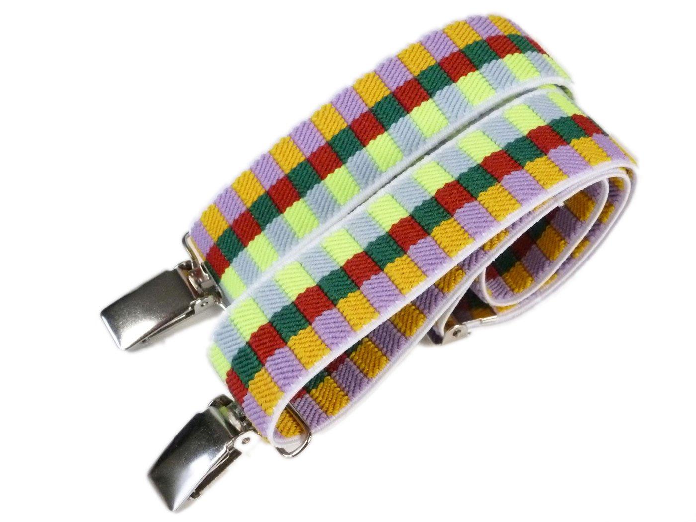 Childrens 1-5 Years fully adjustable Elasticated Clip on Braces/Suspenders KIDSBRACES37
