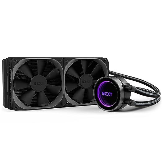 4 opinioni per NZXT- Cooler RL-KRX52-01- 240 mm- Serie All-in-One Liquid- Colore nero
