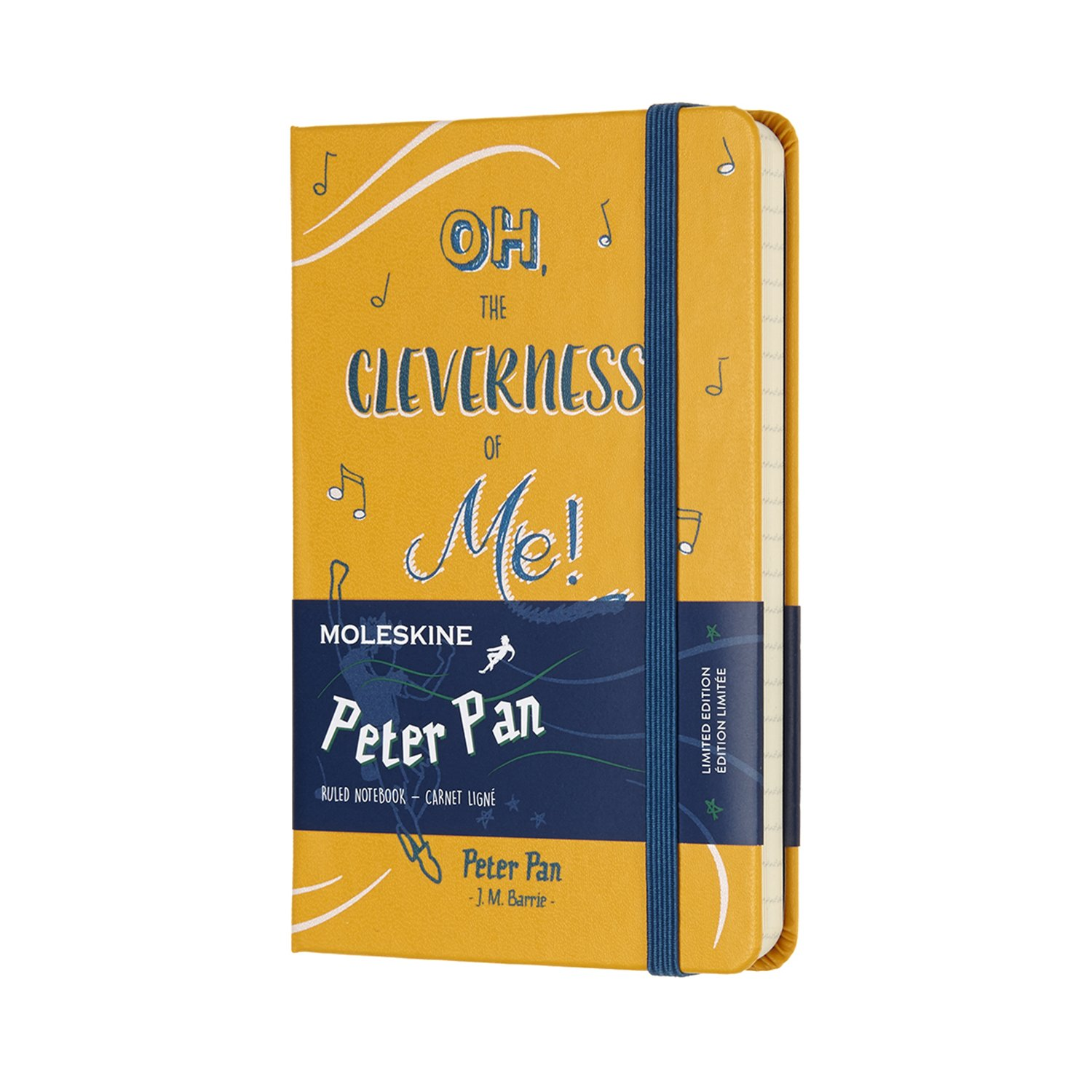 Moleskine Limited Edition Peter Pan Notebook Pocket Ruled...