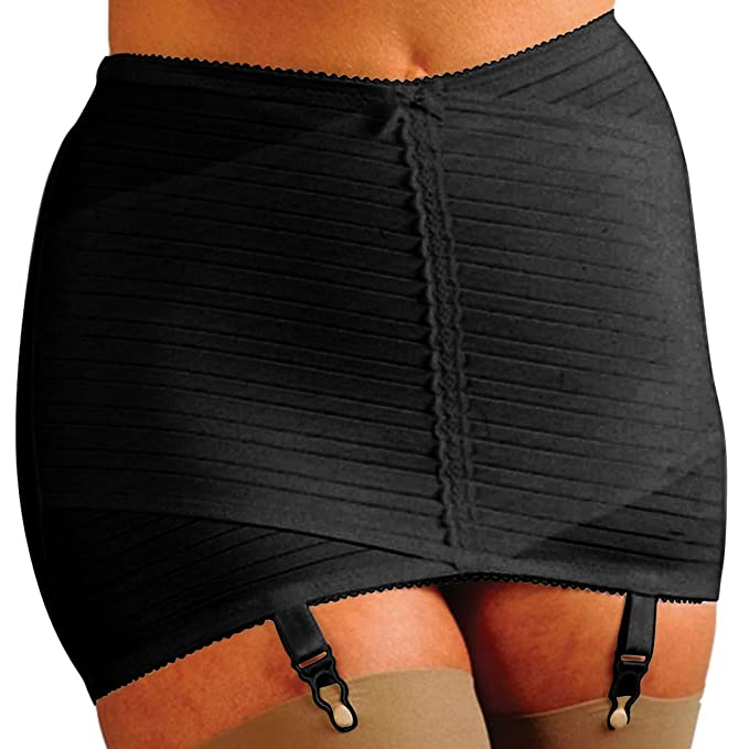 e1fad2ce0200d Silhouette Lingerie Open Girdle Shapewear with Garters (XN1) (Size 1 ( can 6