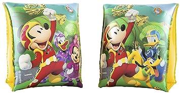 ALMACENESADAN 1217; Manguitos Hinchables Disney Mickey Mouse Y Los Superpilotos, 23x15 cm