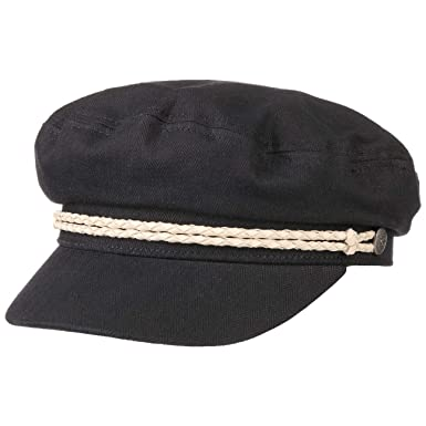 516a992a966ef Brixton Women s Ashland Cap Black Off-White XS (6 3 4) at Amazon Women s  Clothing store